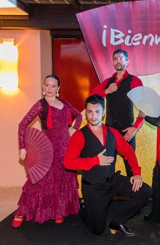 Foto: Cia Aire Flamenco em evento no Hotel Jurerê Beach Village 2016