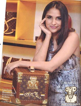 Louis Vuitton Lara dutta bhupathi: Vogue india - November 2011