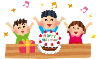 お子様の誕生日パーティーに♪♪お子様大喜び!