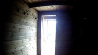 Holz-Hütte Restaurant Gargano Nationalpark Italien