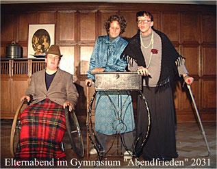 Sebastian Rüdiger, Saskia Pörner und Berit Kersten