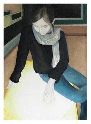 Severine * Öl auf Baumwollgewebe * 80 x 110 cm * 2008