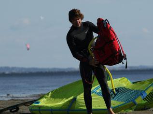 kitesurf vacances famille hérault kitecamp