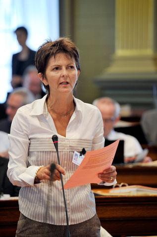 Kantonsrätin Silvia Kündig-Schlumpf