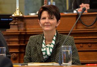 Kantonsrätin Silvia Kündig-Schlumpf politisch