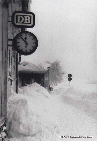 1969/70 - DB Empfangsgebäude in Clausthal-Zellerfeld