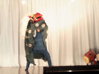 お獅子の舞