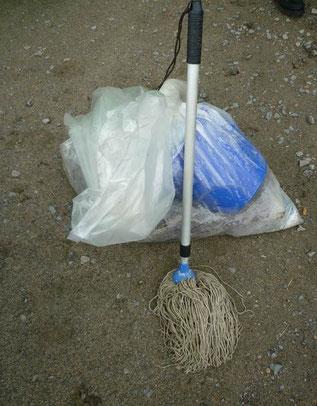 Müll vom 1. Europäischen Coastal Cleanup, Foto: Claudia Lorenz