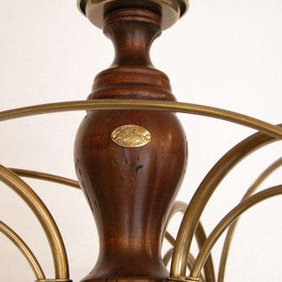 シャンデリア LEDシャンデリア LED照明 おしゃれ イタリア製 カパーニ 古木 ランプ 照明器具 3灯式 クラシック エレガント ゴージャス CAPANNI