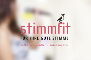 Logodesign von dickesdesign für stimmfit Katharina Beidler
