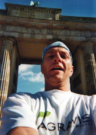 Berlin 2013 - Zieleinlauf Brandenburger Tor