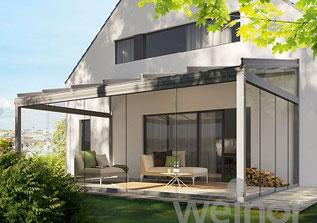 Glashaus klassisch/Pultdach