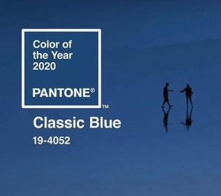 CLASSIC BLUE - PANTONE 19-4052