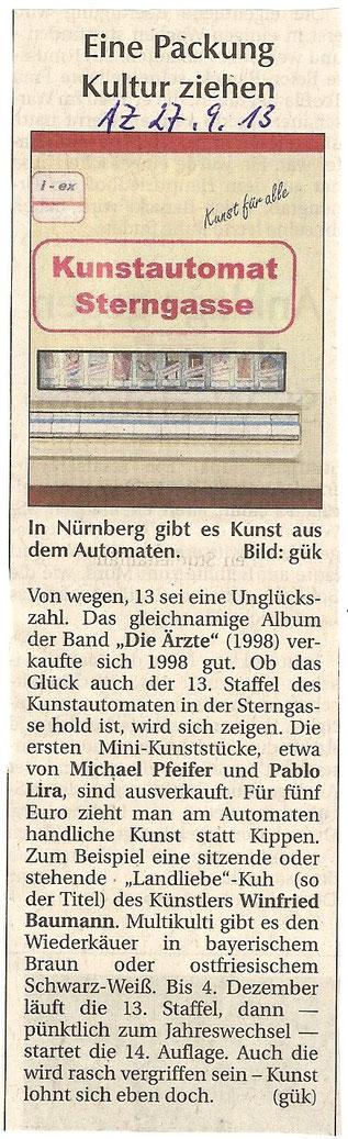 Amberger Zeitung 27.9.13