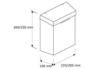 Hygienebehälter Small Bin Steel Maße