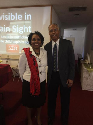 Pastor Mays with Presiding Elder Rev. Dr. Allen L. Williams Sr