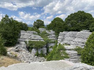 High light: Stone Forest im Vikos Gebirge