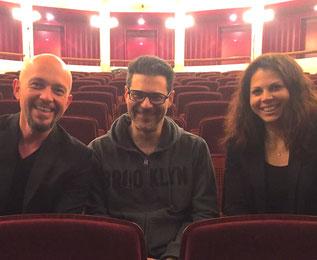 Fun vor der Show mit Comedian Rick Kavanian im ausverkauften Komödienhaus am 20.10.2016