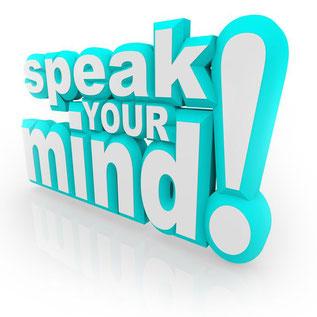 IELTS スピーキングで大事なこと-speak your mind!!