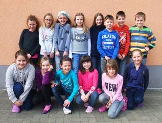 Schüler der Mahntegrundschule