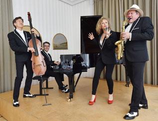 Musiker mit Spielfreude lassen Ihre Geschäftspartner locker und gesprächsbereit werden