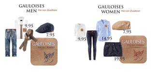 STYLING DESIGN FOR GAULOISES PROMOTION TEAM