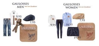 STYLING DESIGN FOR GAULOISES PROMOTION TEAM