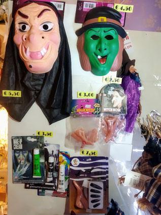 maschere e trucchi befana