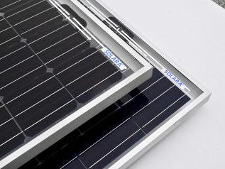 Solarmodule mit Rahmen zur einfachen Montage. Diese Solarmodule haben alle Tests bestanden. Solarmodule mit Rahmen sind ideal für die mobile Anwendung auf Wohnmobilen, Reisemobilen und off Road Fahrzeugen. Solarmodule für die professionelle Anwendung.