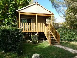 Chalet casane 2-4pers camping gers arros
