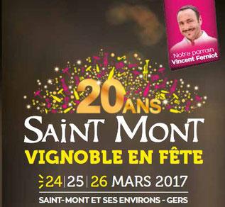 Vin Saint Mont en Fete 20 ans - Camping Gers Arros
