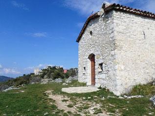 La chapelle St Joseph à côté de la balise 47