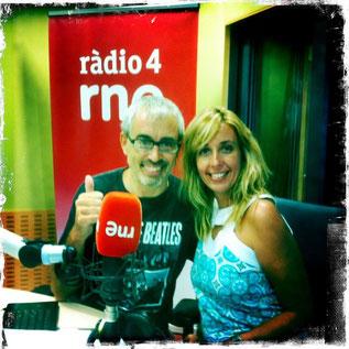 Col.laborador del programa de Xantal Llavina, a Ràdio 4