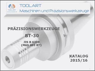 Toolart, Österreich, präzisionswerkzeuge, BT 30, JIS B 6339, werkzeugaufnahmen