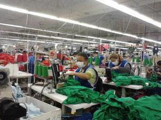 Frauen, Kleidung, Arbeit, Nähmaschinen, Honduras, Maquila