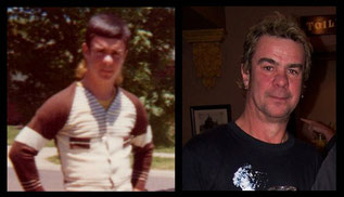 Dave France  1976 & Today