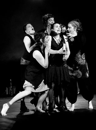 Les Goules Poly, Criatura, Compagnie Parolata Sung, Concert, Vienne 86, Deux-Sèvres 79, Nouvelle-Aquitaine