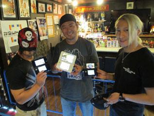 (左から)政宗選手、MIYAWAKI選手、HAYATA選手