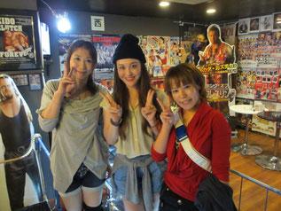 (左から)桜花由美選手、西尾美香選手、大畠美咲選手