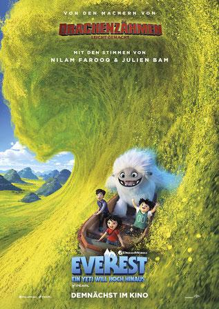 Everest Ein Yeti will hoch hinaus Plakat