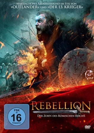 Rebellion Der Zorn des römischen Reichs DVD Cover