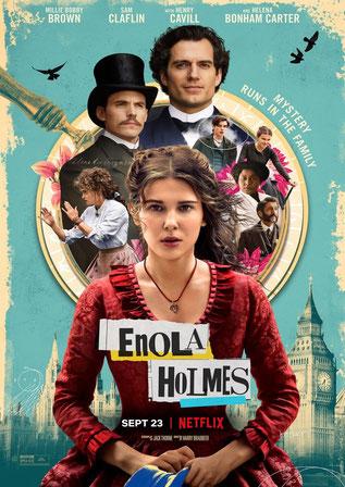 Enola Holmes Plakat
