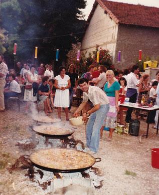 Feu de la Saint-Jean 26 juin 1982