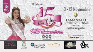Exposición Mis Dulces 15 - 10ma Edición