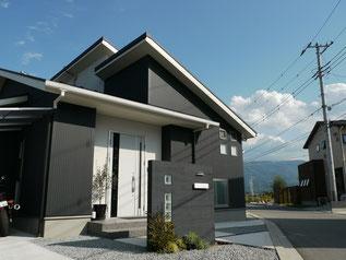 甲府市飯田邸完成写真