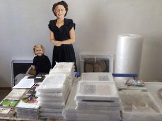 Professionalisierung für Künstler - Blick ins Atelier