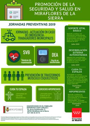 campaña promocion de la seguridad y salud miraflores de la sierra 2019