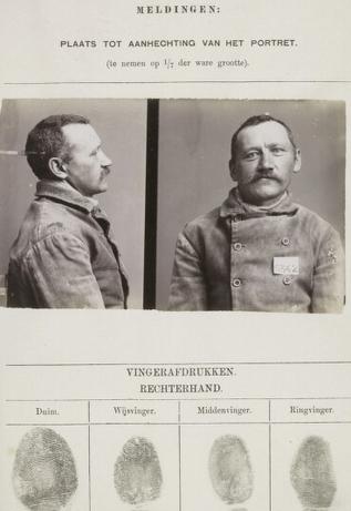 signalementkaart Veenhuizen opname: 10-08-1899