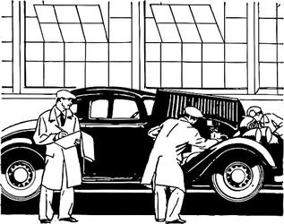 中古車査定業者の査定方法を解説