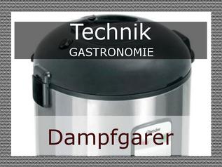 Dampfgarer in der Gastronomie